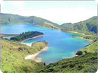 Azores Fogo Crater in S�o Miguel